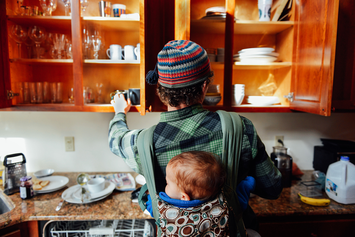 Stay-at-home dad - In February 2014, I followed Will Scherer, who became a stay-at-home dad after moving to Missouri for his wife's job, while he took care of his two young children.