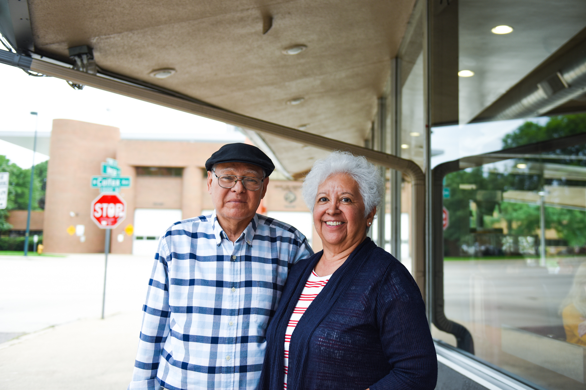 2 p.m.: Michael and Phyllis Marquez had their first date at the Denver Diner in 1971. On August 3, 2018, they celebrated their daughter Valerie's birthday at the restaurant.