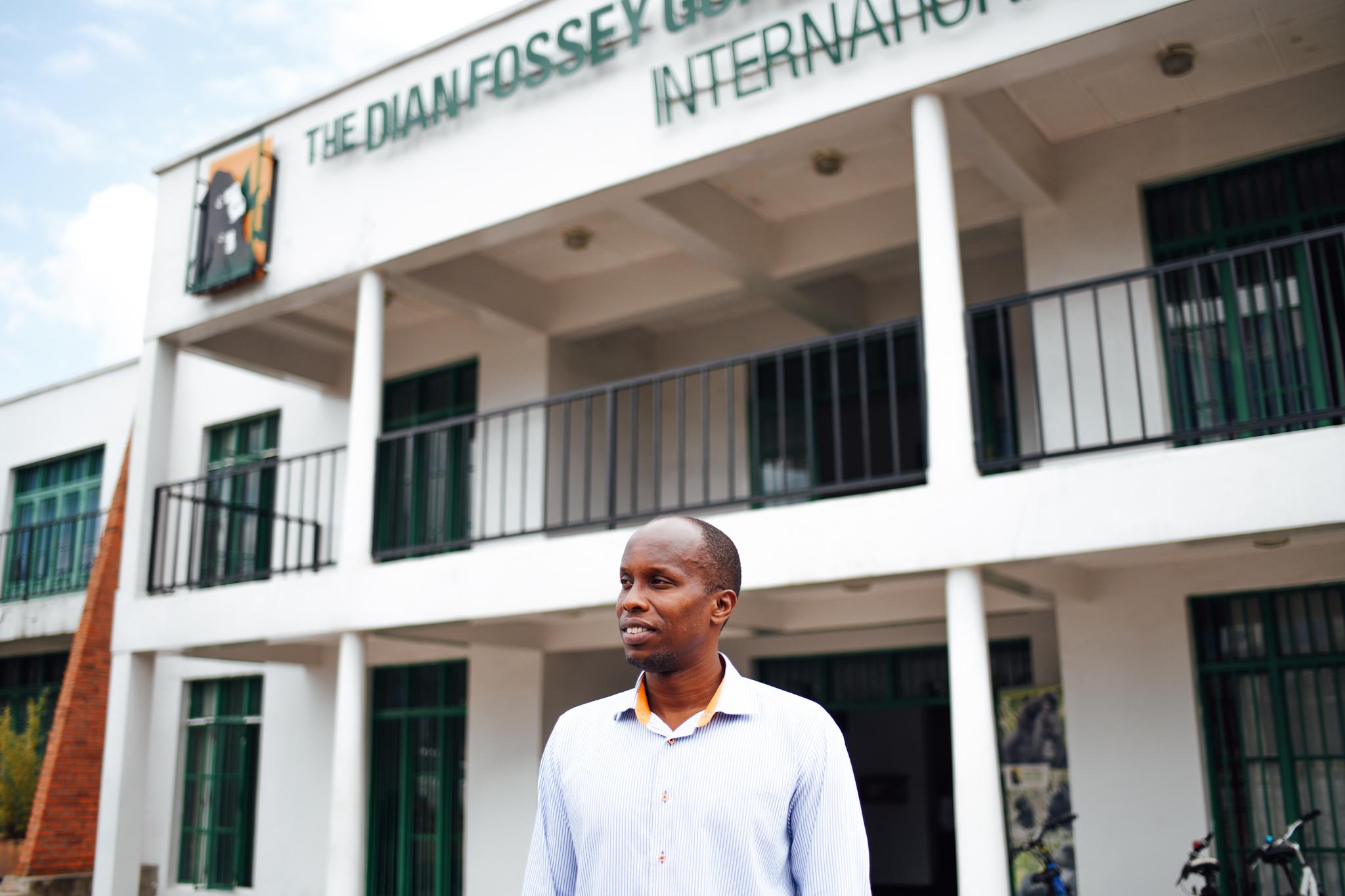 Felix Ndagijimana is the director of the Karisoke Research Center.