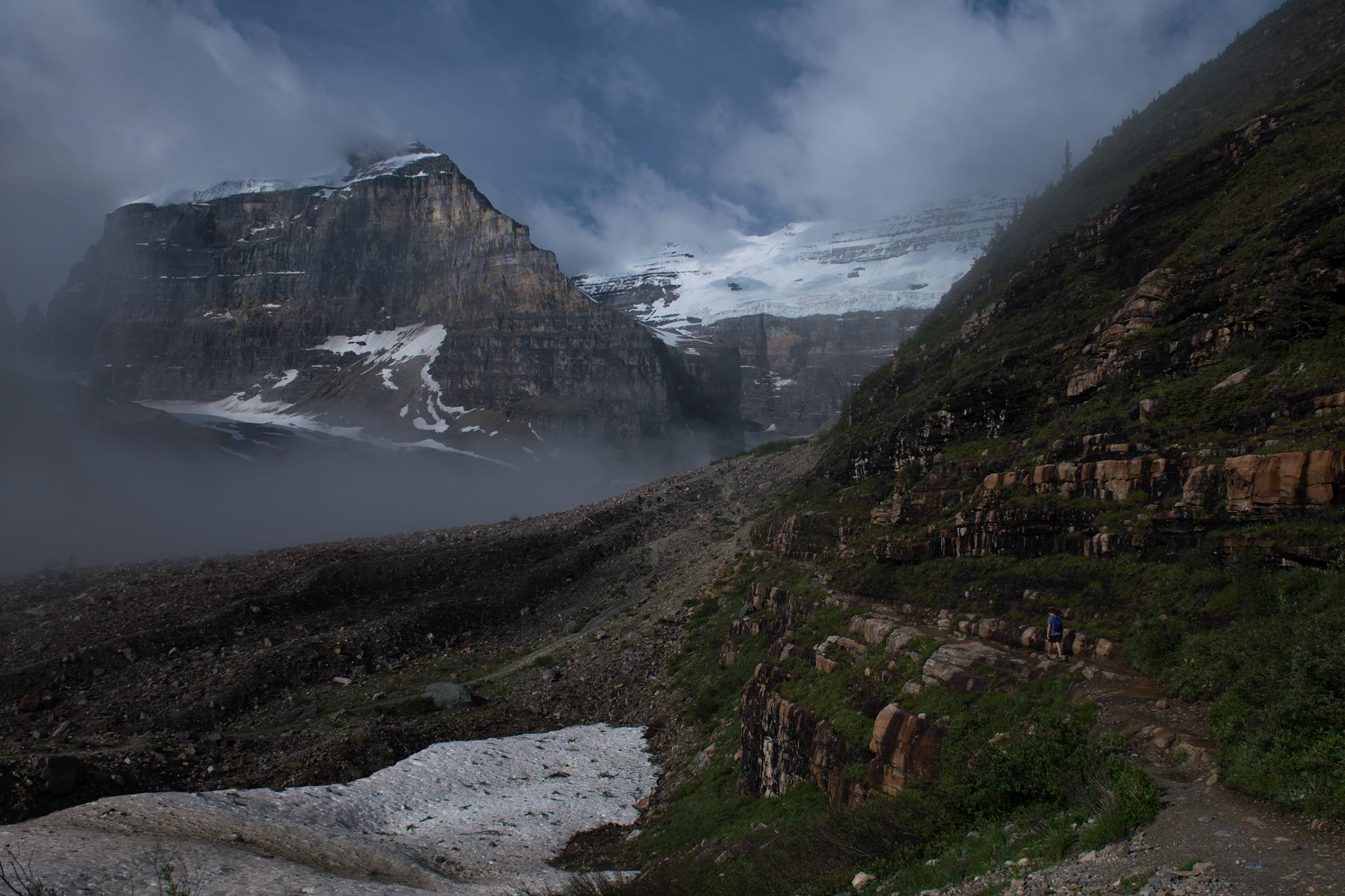 Plain of the Six Glaciers