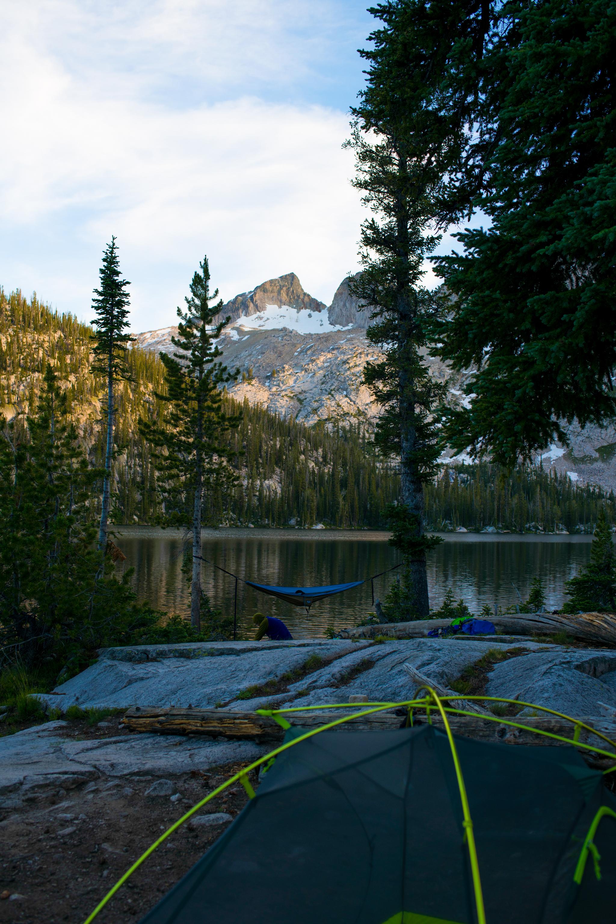 Our dreamy campsite