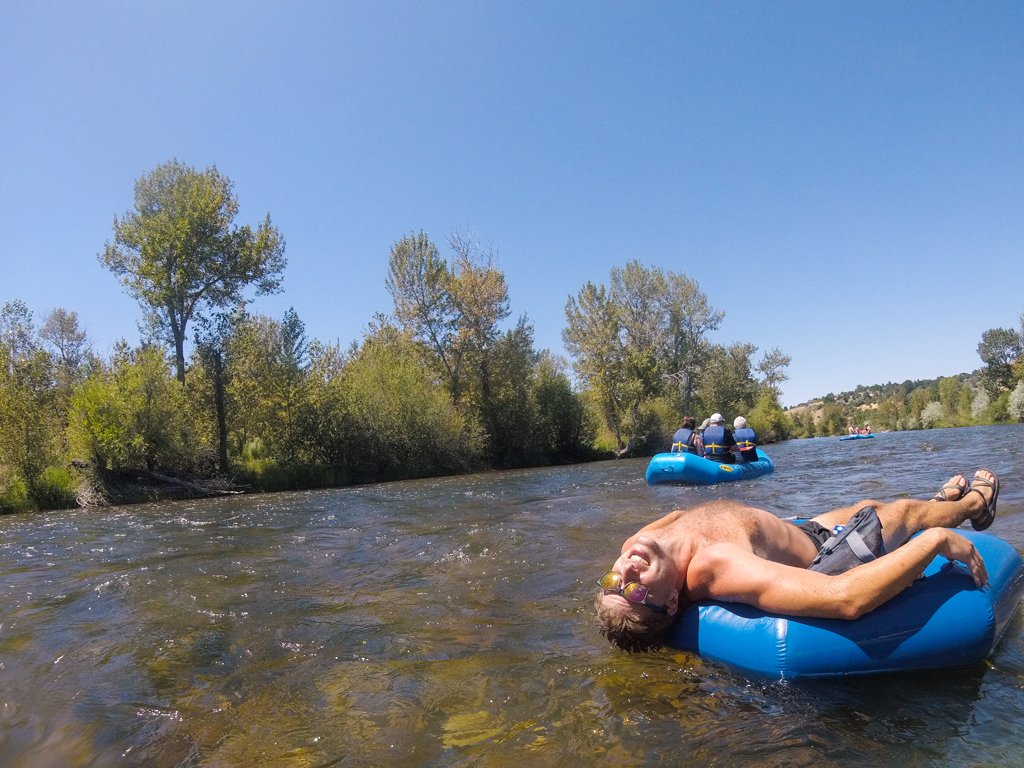 Floating the Boise River