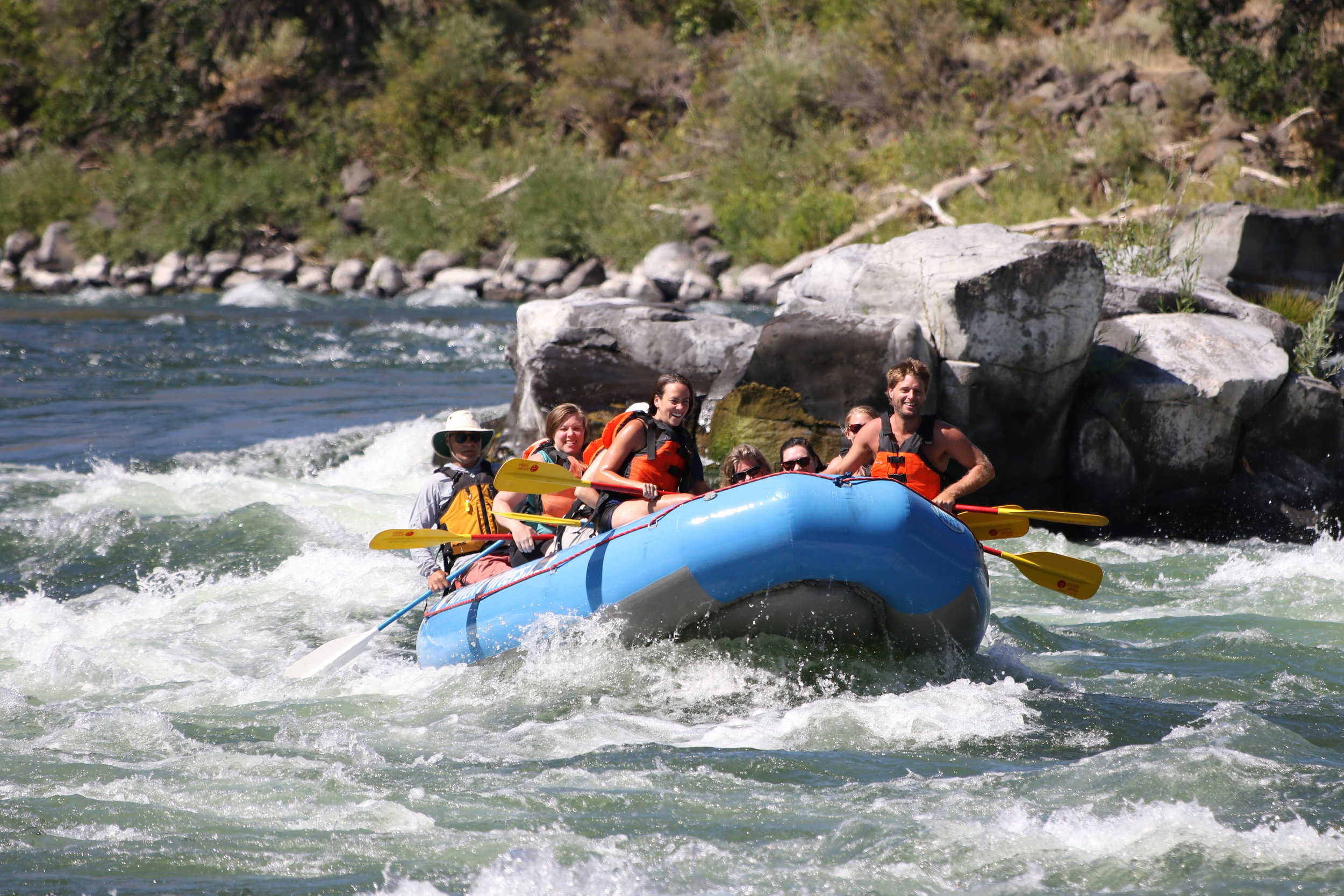 Photo courtesy of River Drifters rafting