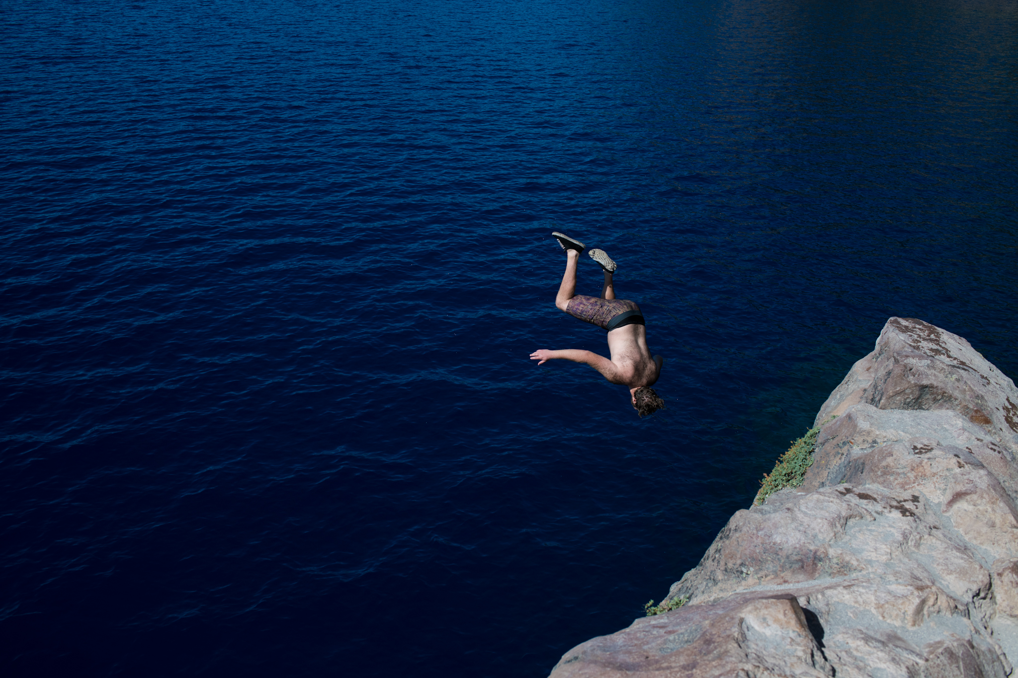 Cleetwood Cove cliff jumping