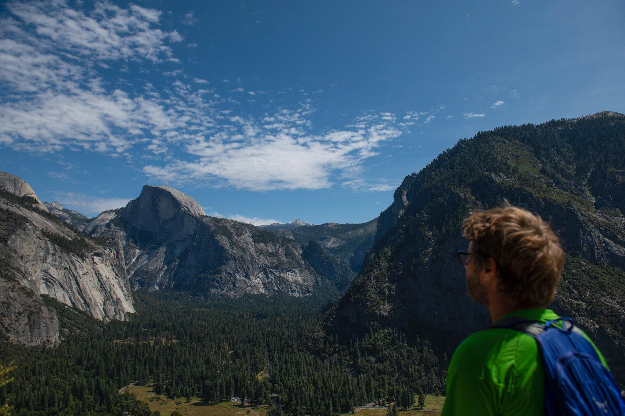 Views along the Upper Yosemite Falls hike