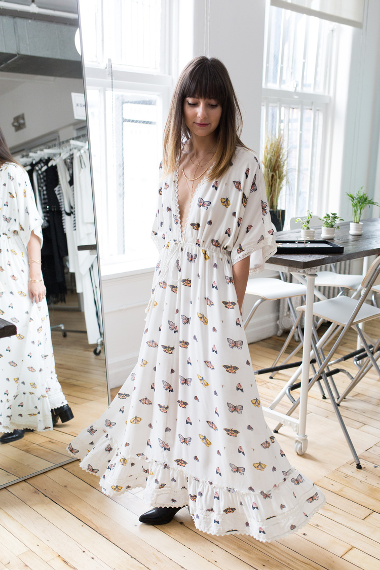 Woodrow makes the kind of dresses you just feel pretty in — they make you want to run around in a grass field or twirl around and take photos all day.