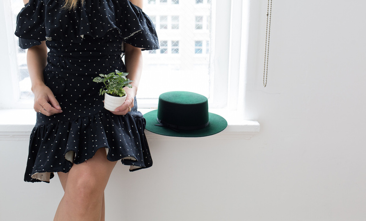 Click here  to revisit our office-warming surprise with fashion writer Alyssa Coscarelli and The Sill.