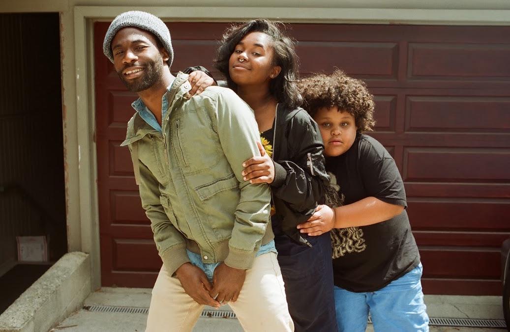 Scarub, Indigo, and El'Leon at their home in LA