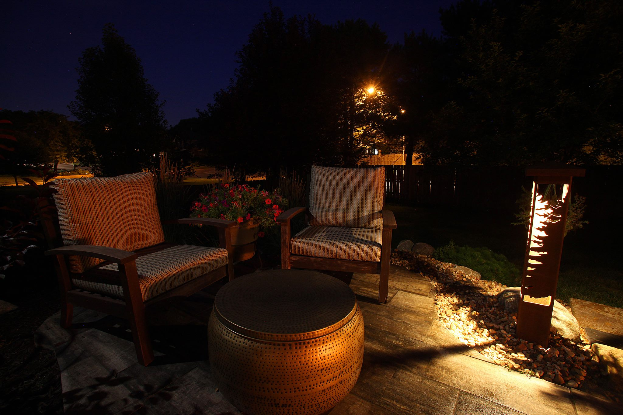 Patio and Landscape Lighting Omaha