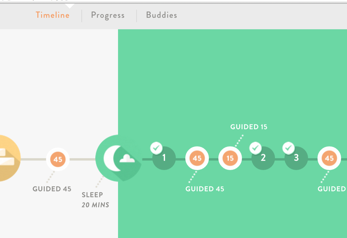 My meditaton journey with @headspace - The Sleep package