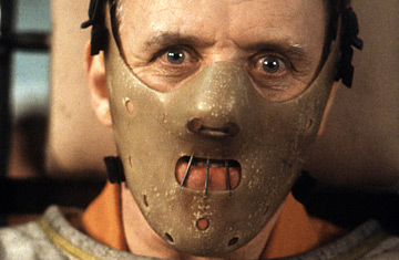 Sir Anthony Hopkins as Hannibal Lecter (Source:  Time )