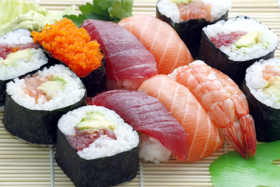 Try one of the best wine pairing options for sushi :  Chablis .