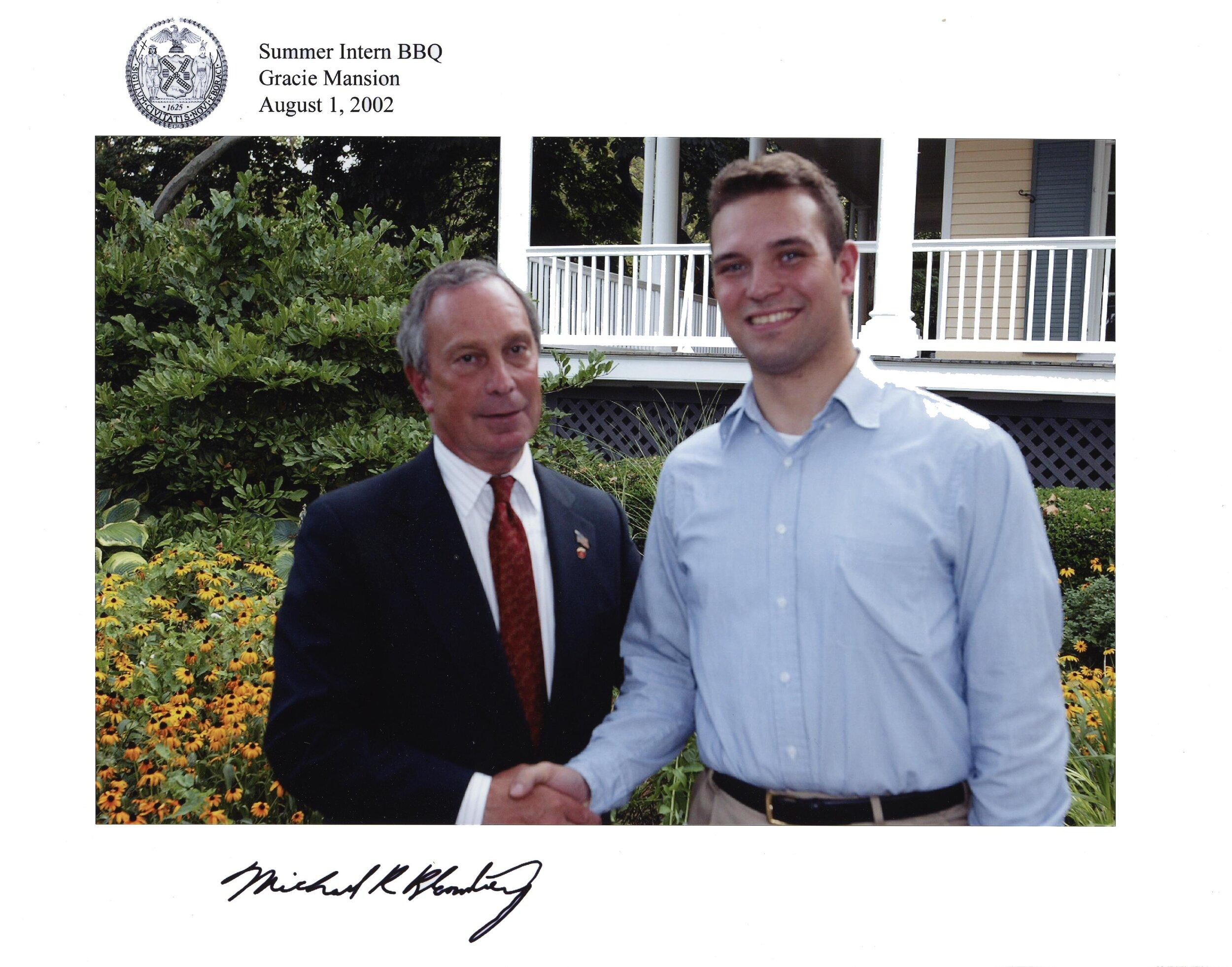 2002, 08,01; Gracie Mansion; Bloomberg, JH; 5391.JPG