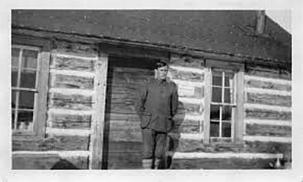 Ranger Howard Flint on the Chippewa