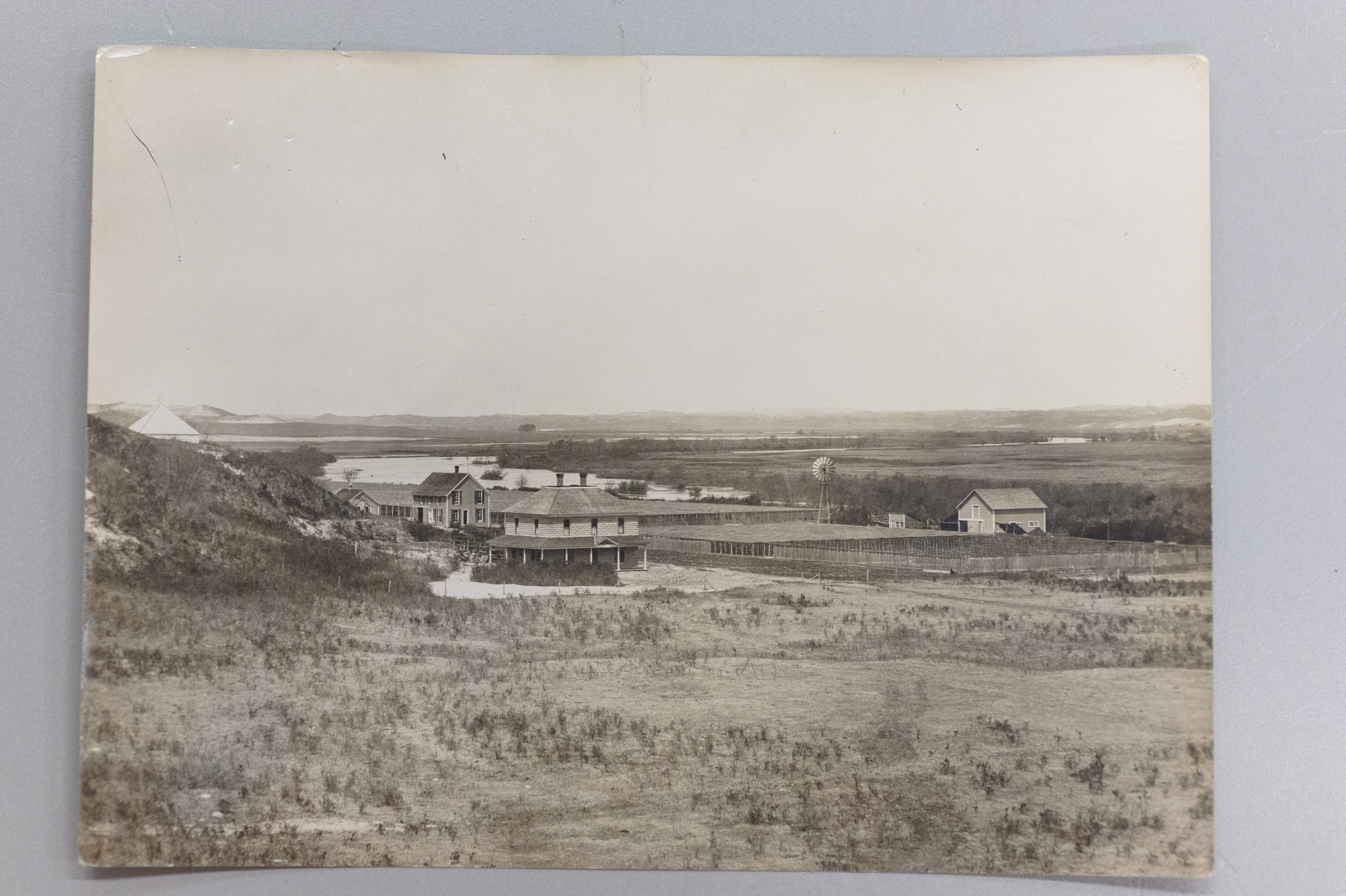 """The Forest Service Nursery at Halsey, Nebraska as I left it on December 31, 1907"" by Charles Anderson Scott.  From the narrative of Charles Anderson Scott. Gifford Pinchot Collection, Library of Congress. Manuscript Division."