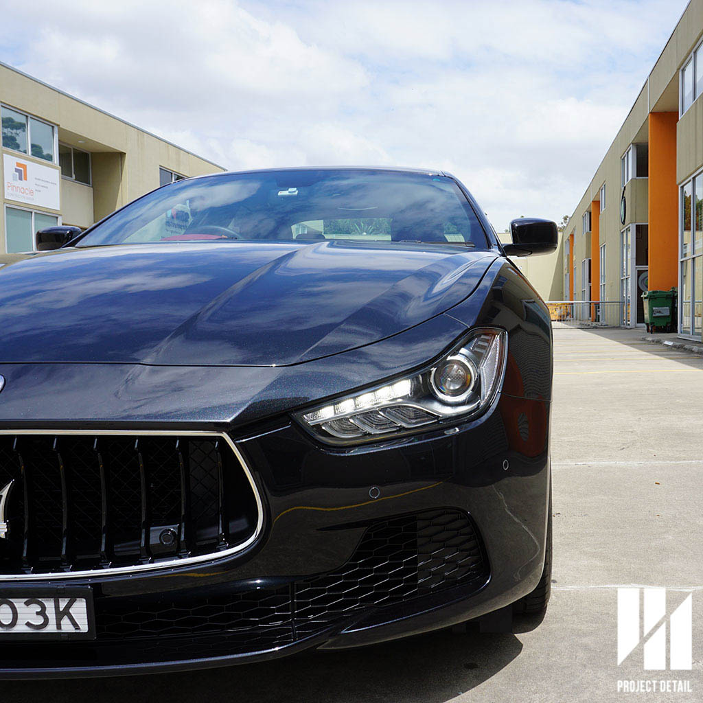 Maserati Ghibli coated - CS2 Titanium