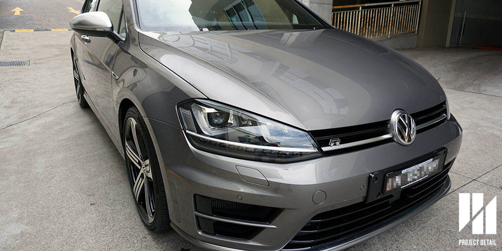 2016 VW Mk7 Golf R in Limestone Grey - Brand new & protected with our Glass Coating protection.