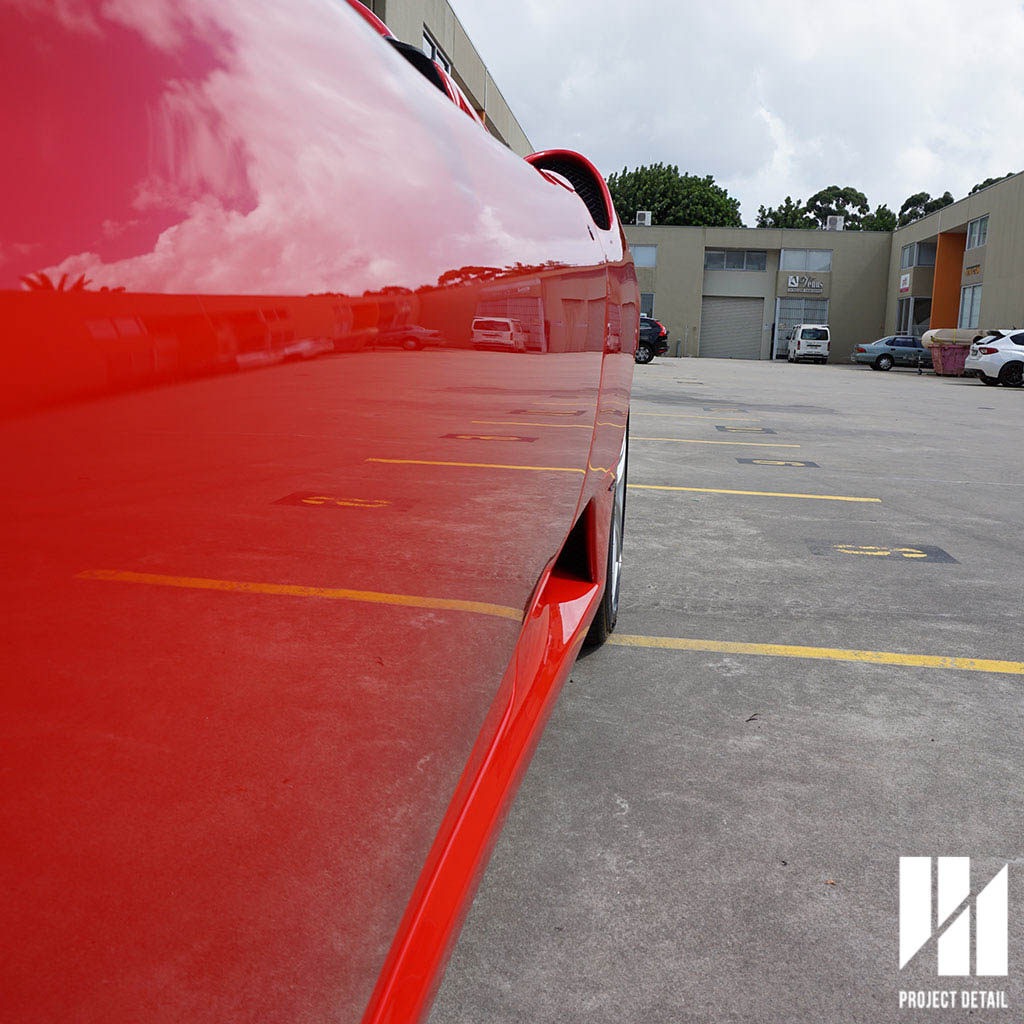 2 Stages of paint correction & a quality glass coating can achieve unbelievable results.