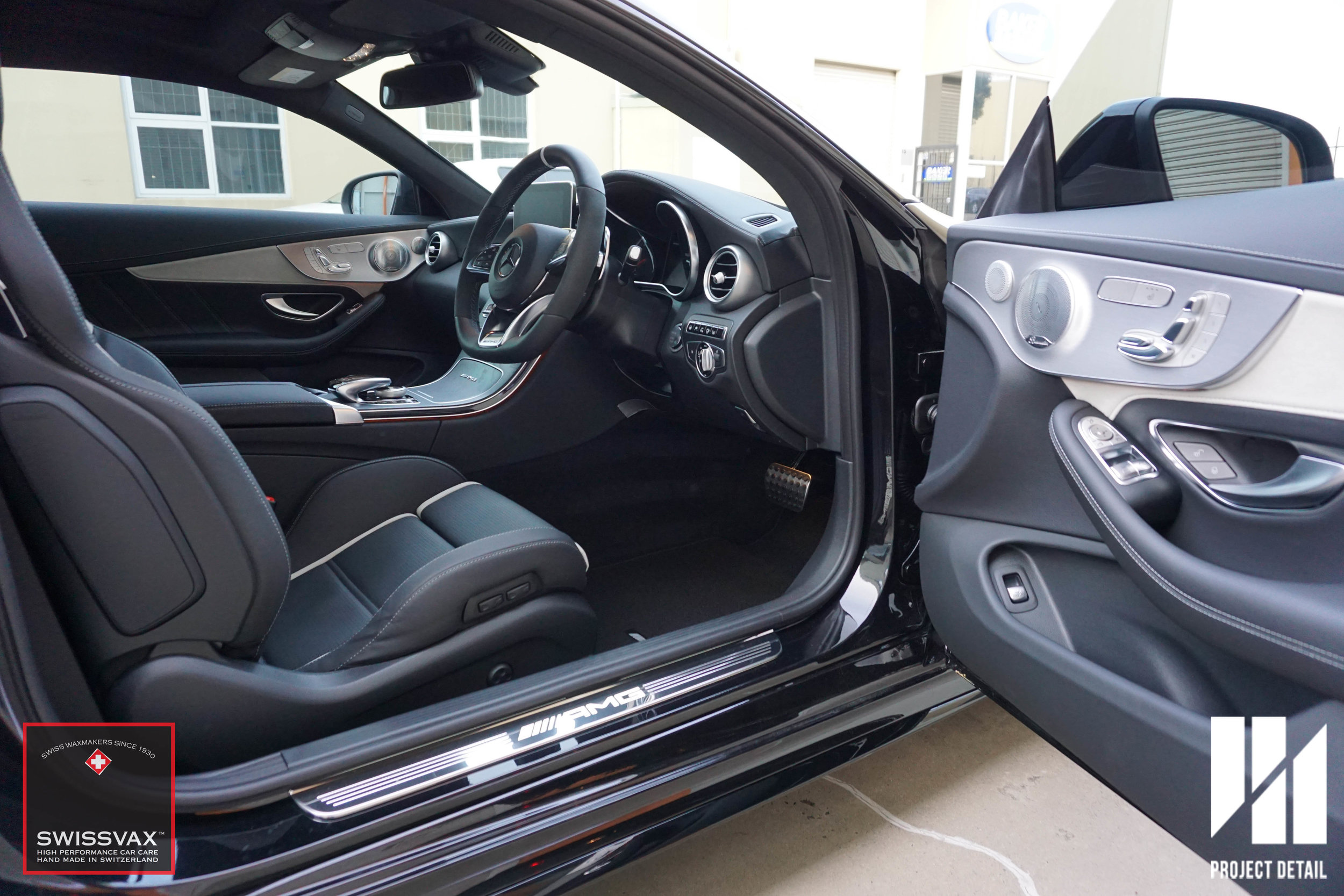 Project Detail also provides the very best in leather, fabric and interior car with Swissvax.