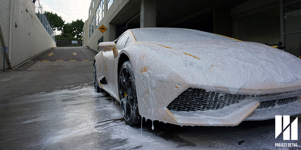 Did you know every car washed with our 21 Stages undergoes a hot foam bath and is washed with hot water to provide a safer and better wash? The heat allows road grime & debris to break down safely and reduces the overall friction required to clean the vehicle.