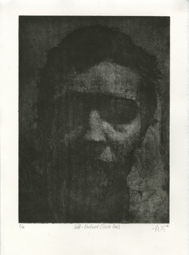 Self-Portrait (State One) from Accumulation