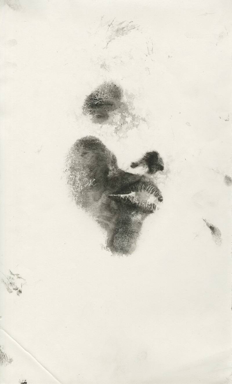 Left Face from Live Body Prints!