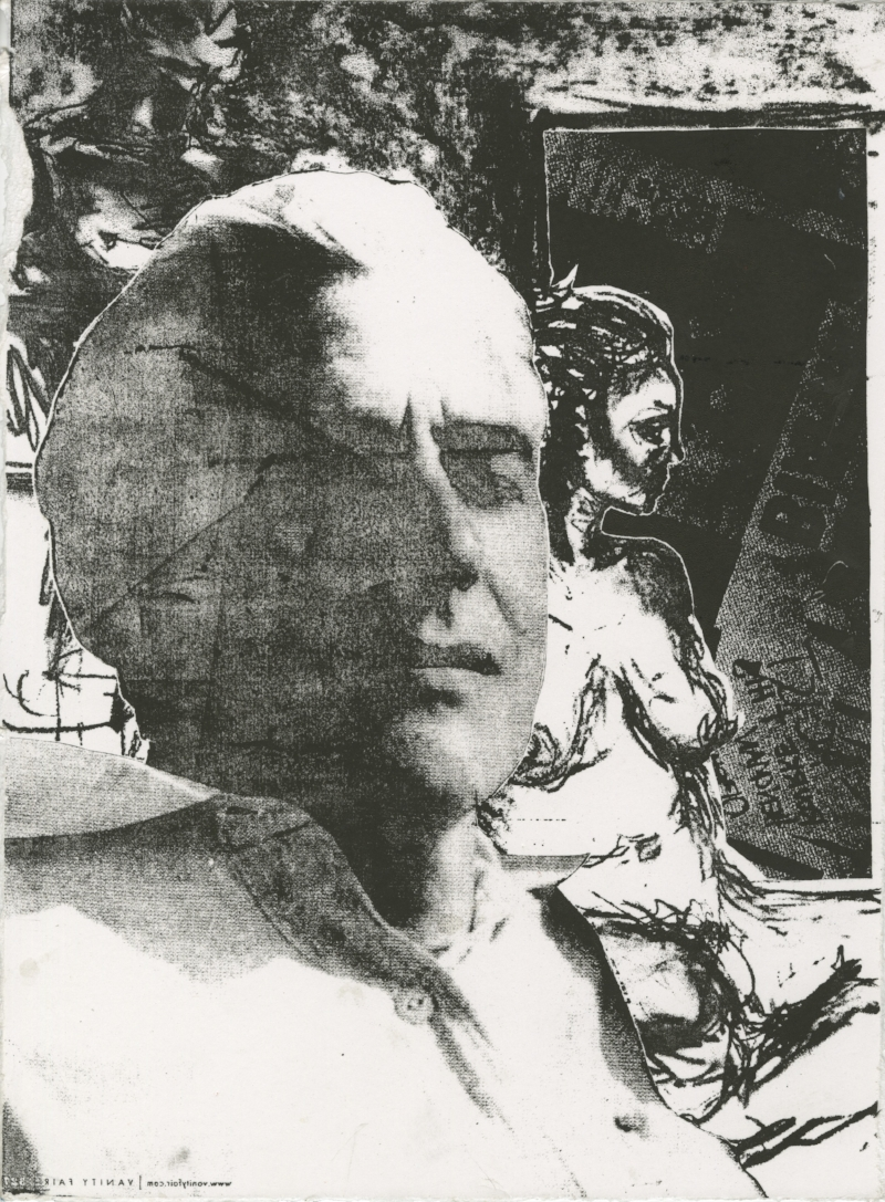 Print from Fragmented Body Collage