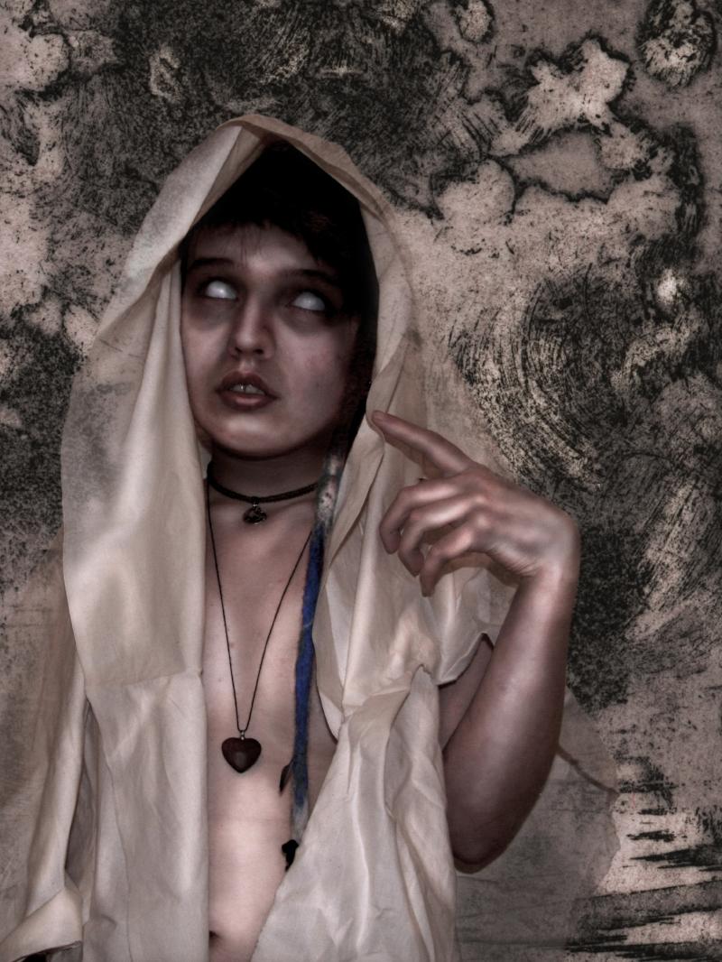 Raven (Self-Portrait) from Undead Portraiture