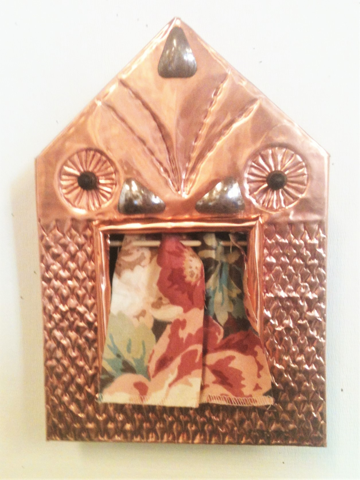 Embossed Copper Shadow Box