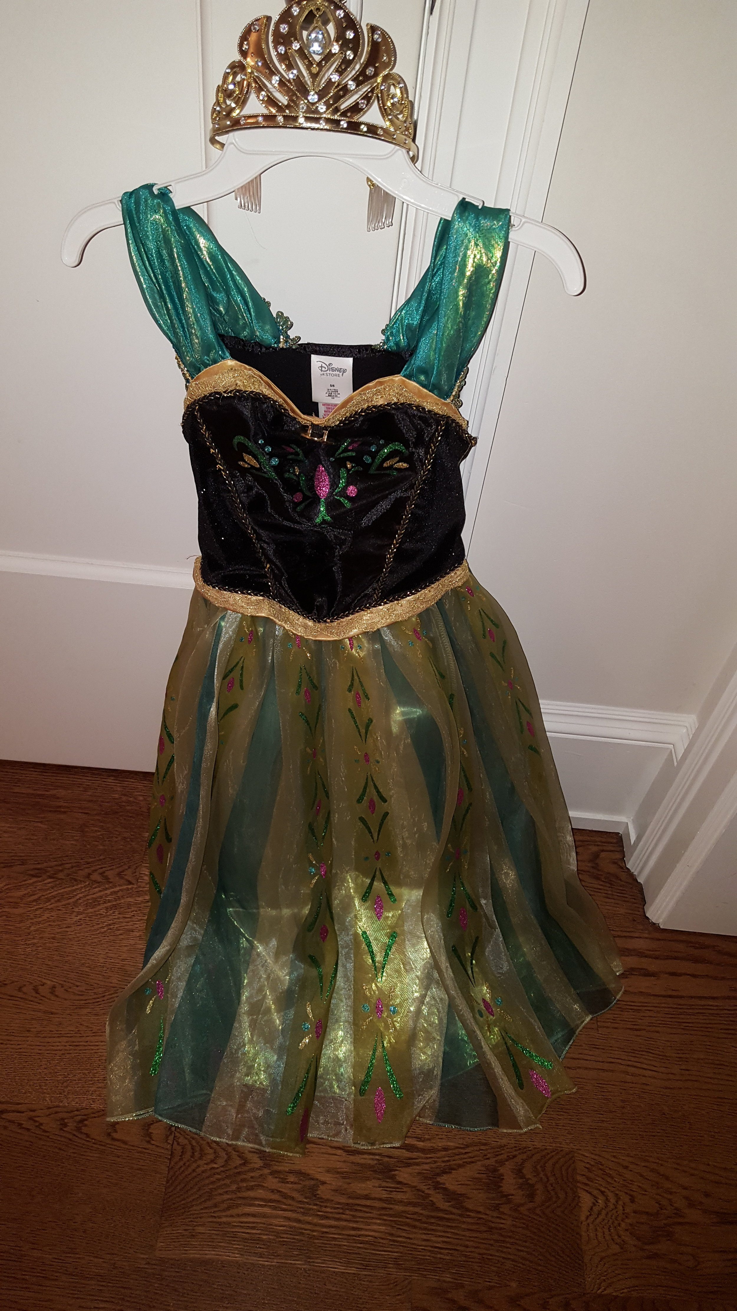 Disney Princess Costume 5-6 yo   $ 20