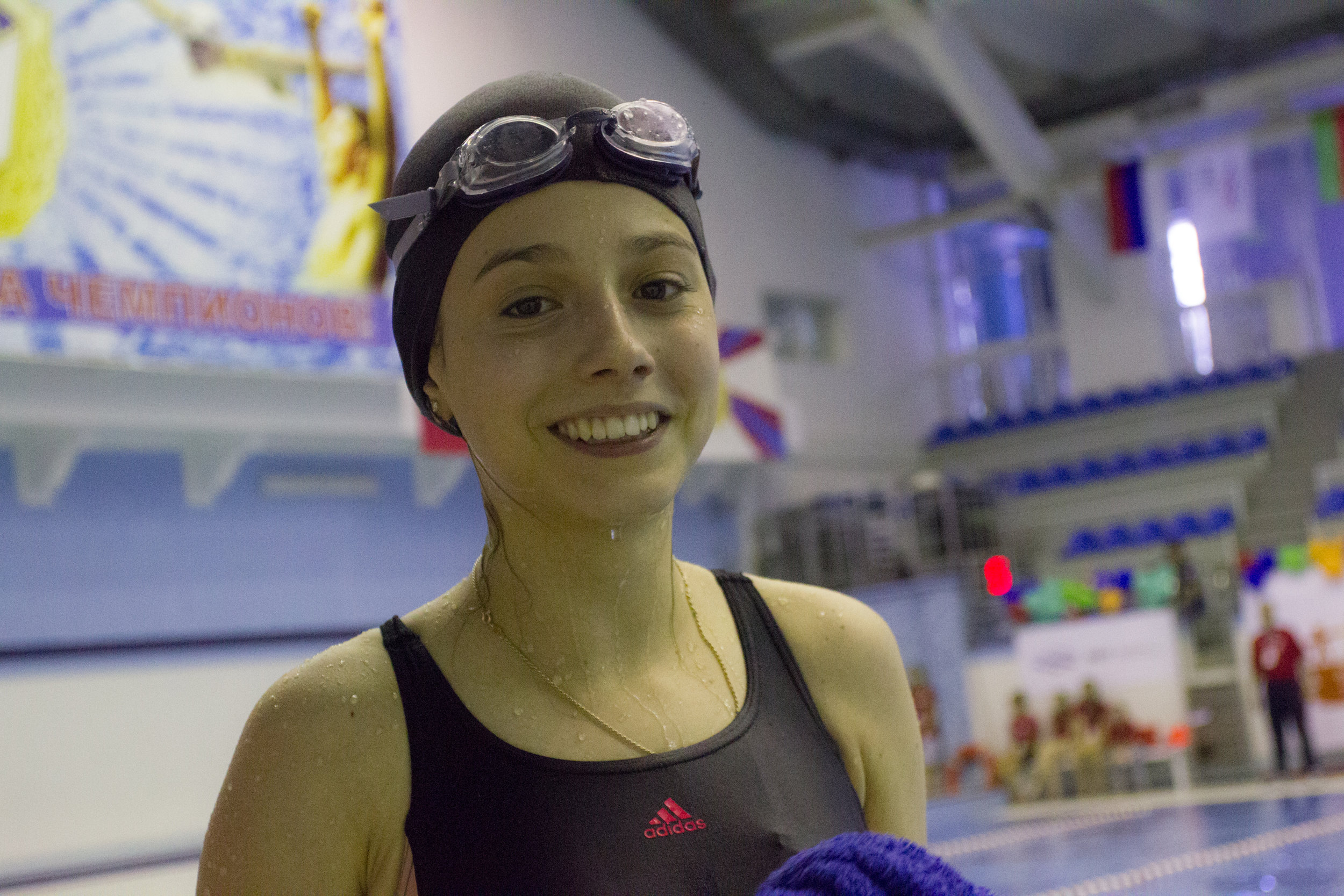 We congratulate Lera and wish her new victories in her life.