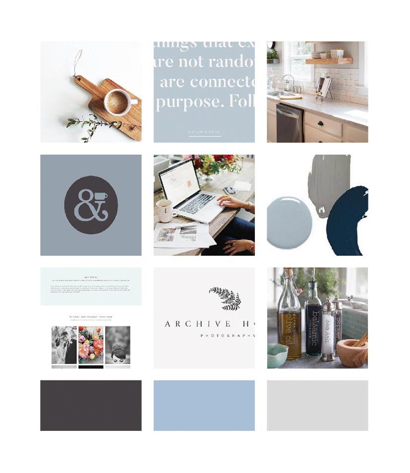 Building My Brand: Moodboard for my business rebrand   Alexa B. Creative & Design