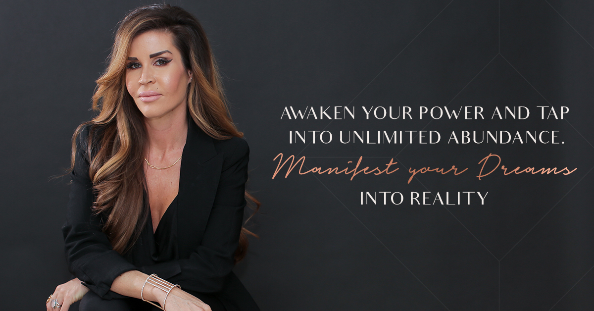 Social media graphic for Randina Marie's Power of a Woman: Creating Your Life by Design · Alexa B. Creative & Design