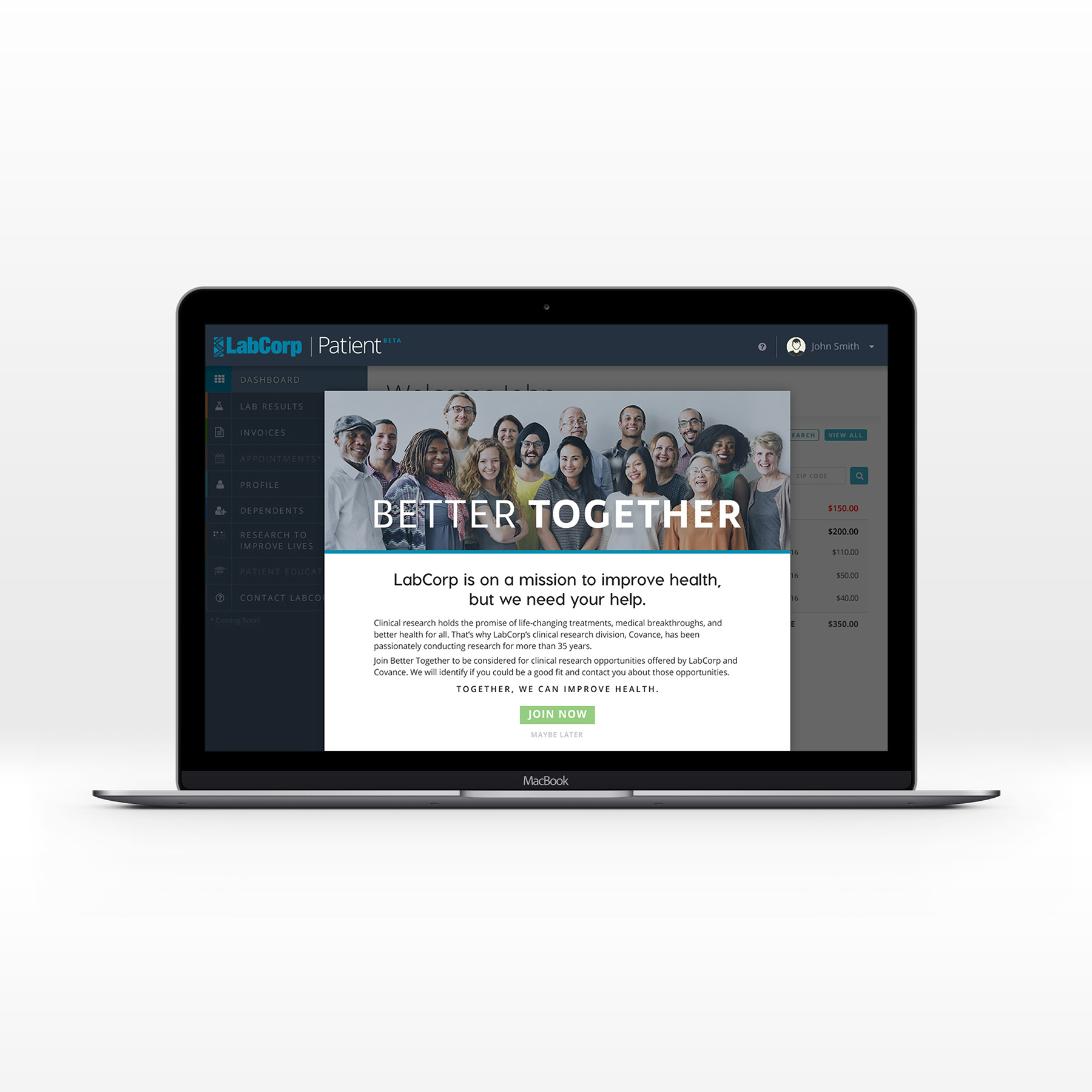 Brand identity design for healthcare, wellness and medical research program, Better Together, by Alexa B. Creative & Design.