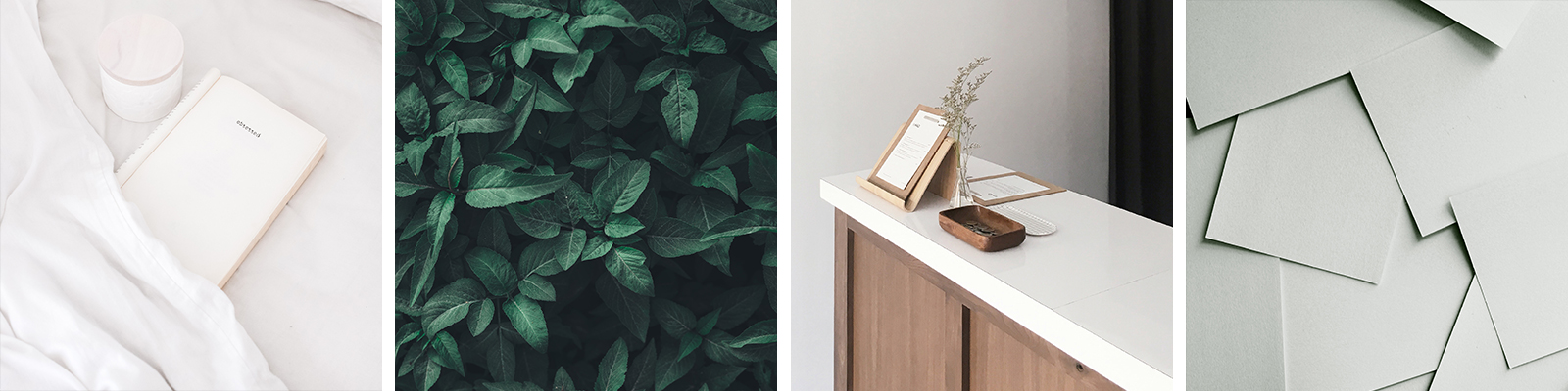 Minimal, organic and natural brand inspiration | Where (and How) to Find Inspiration for Your Brand