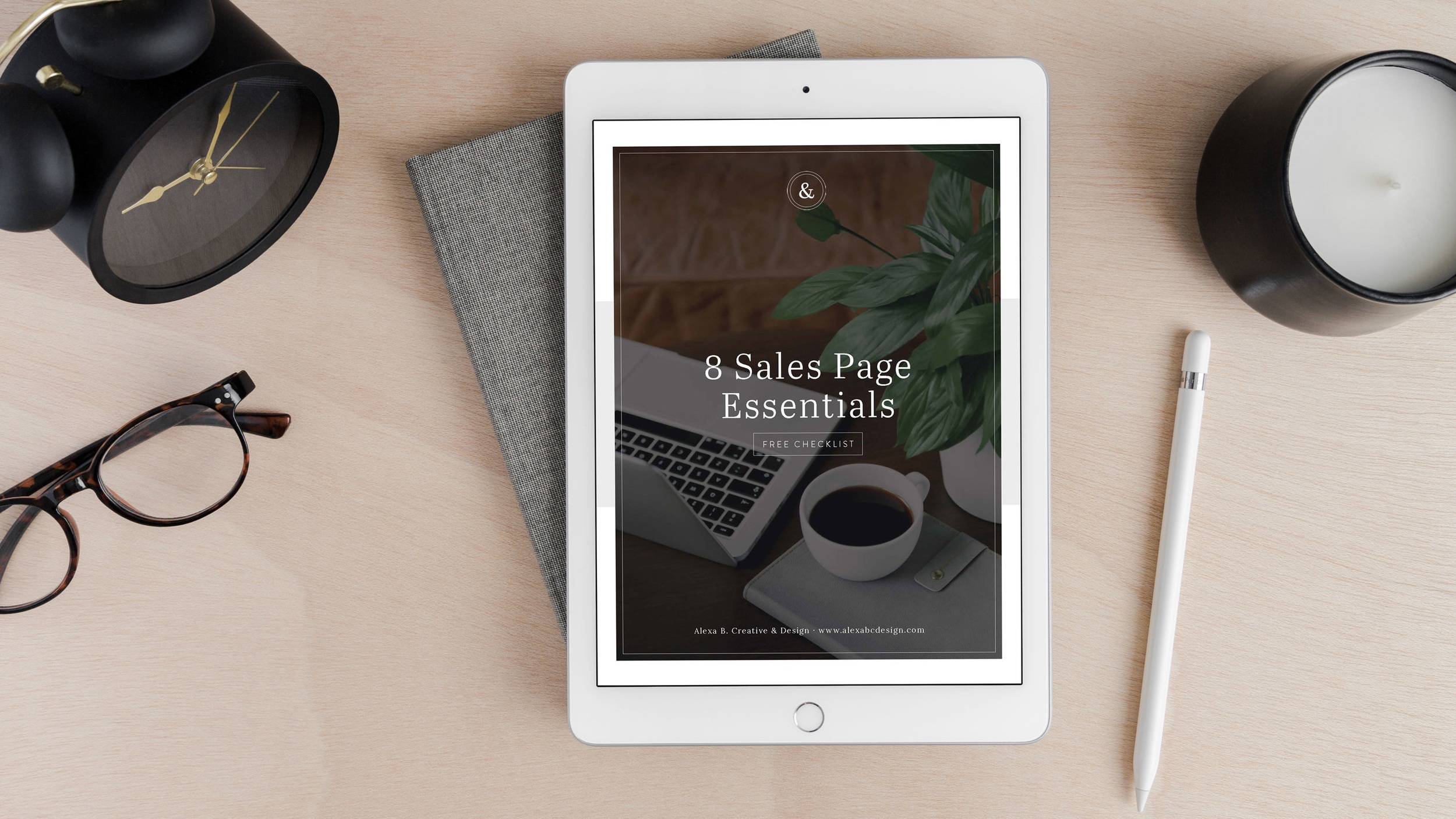 Free download: Sales Page Essentials Checklist