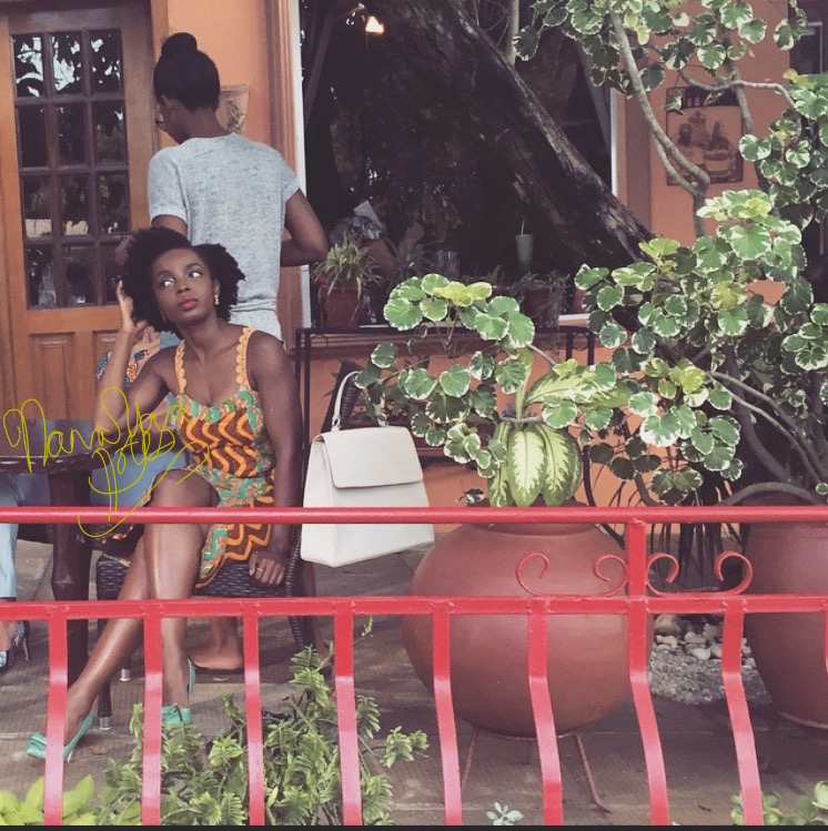 Matching Skirt and Top  Aya Morrison  Bag  Dot Fashions  Shoes  Mo Saique