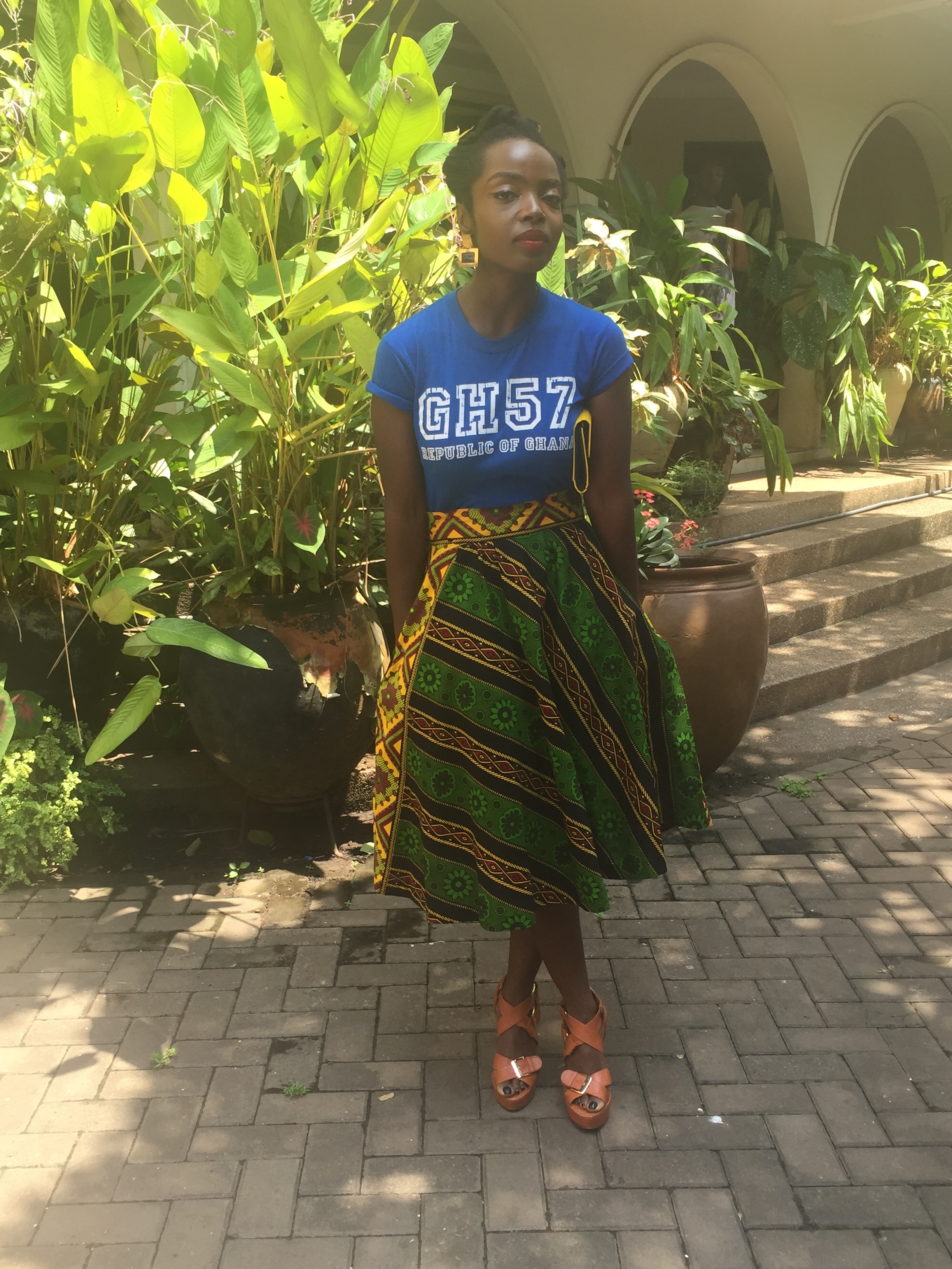 Shirt  Lokko'08  Skirt  Kiki Clothing  Shoes  Mo Saique