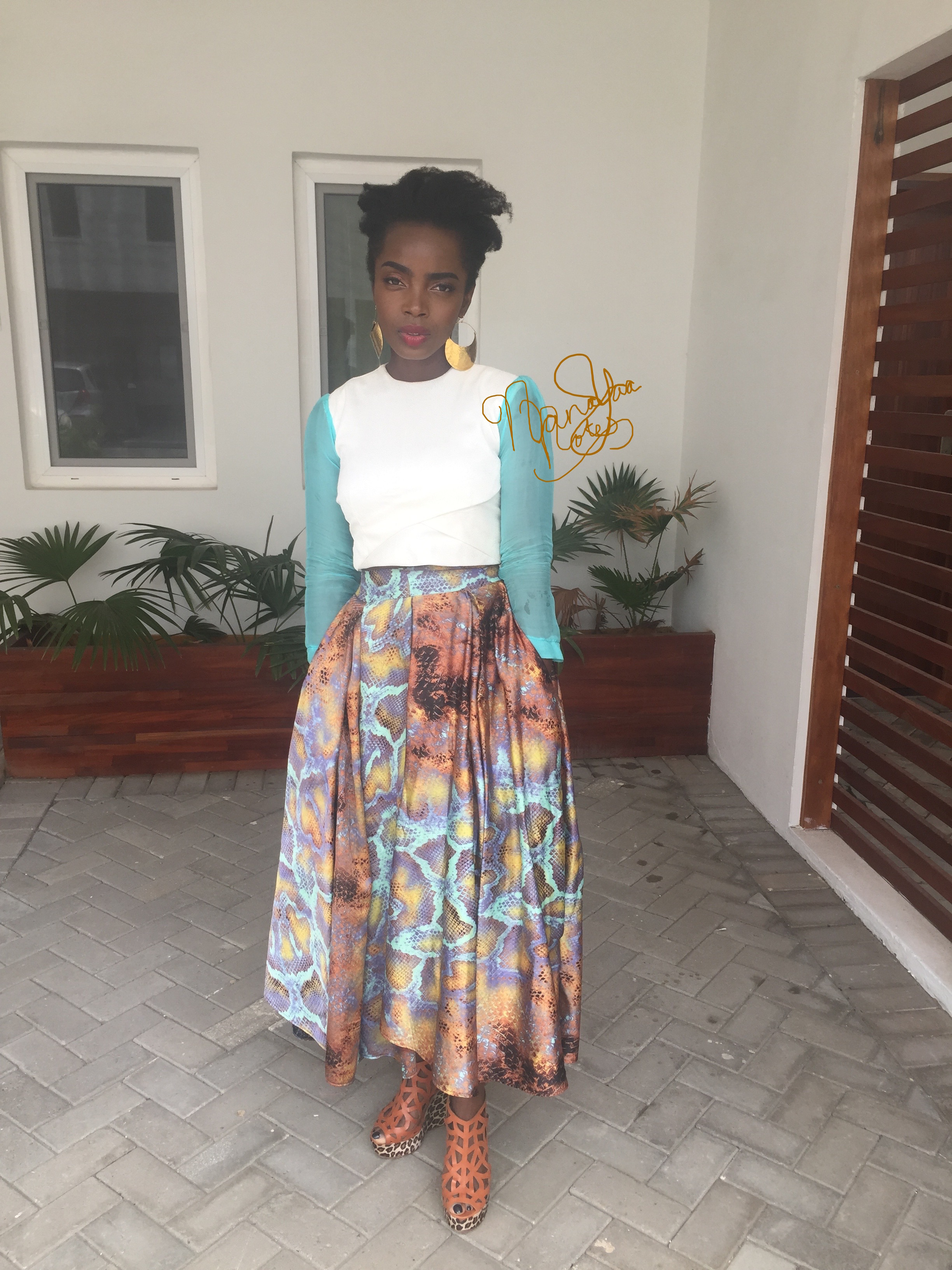Outfit  Totally Ethnik Shoes  Mo Saique