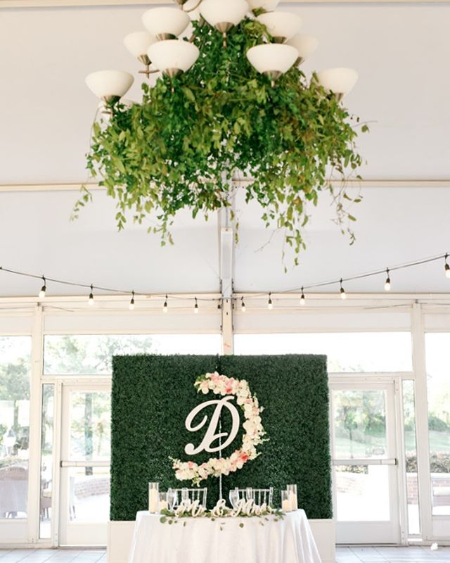 A sweetheart table is the perfect way to add a touch of intimacy during dinner, while elevating your reception decor! 📸 @bumbyphotography 💐 @yourrunwaybotanical