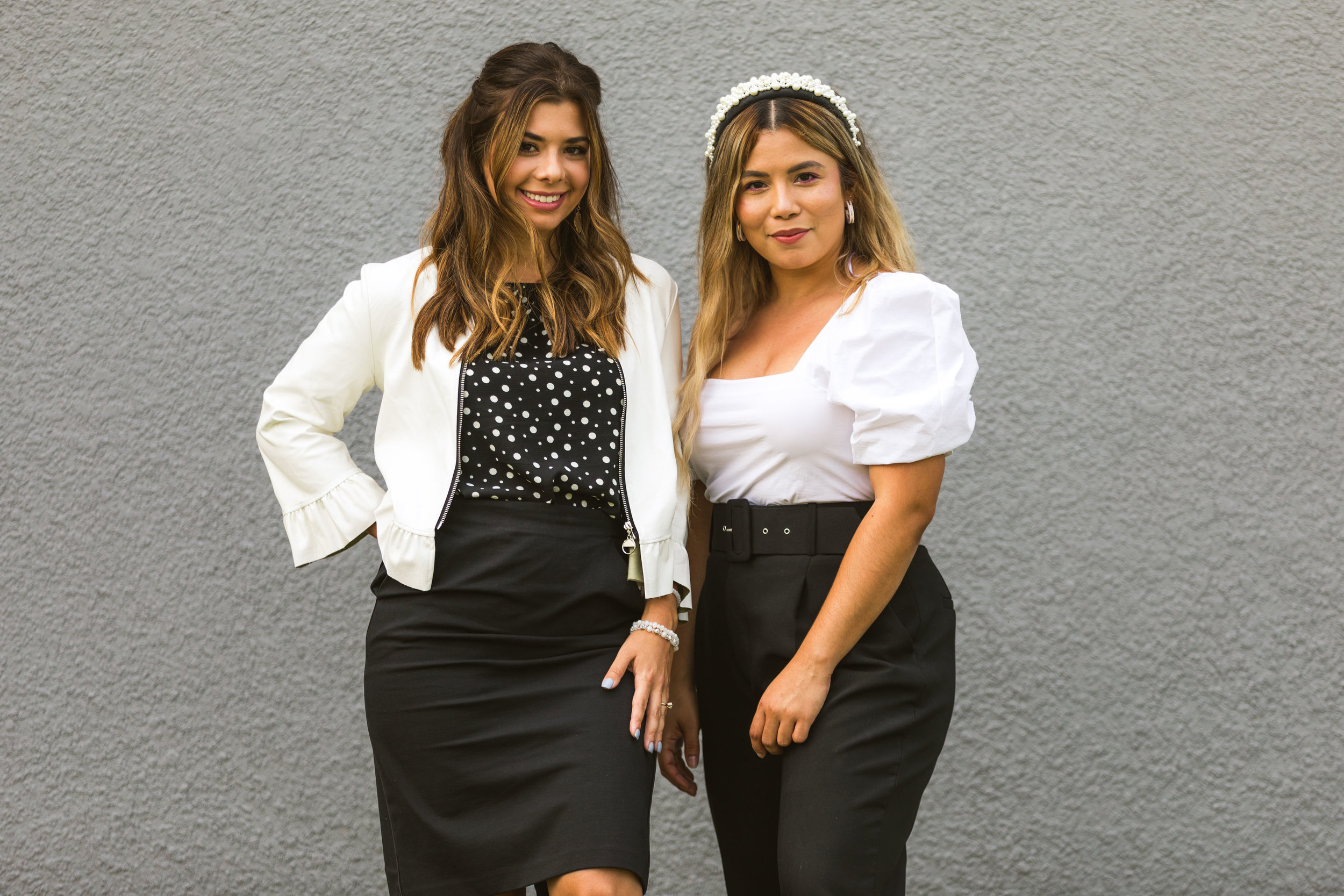 Creative team - Meet: Trish & Caroline