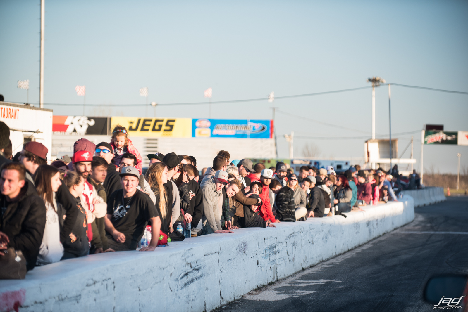 It was crazy the amount of people! Some full on car shows dont get this many people.