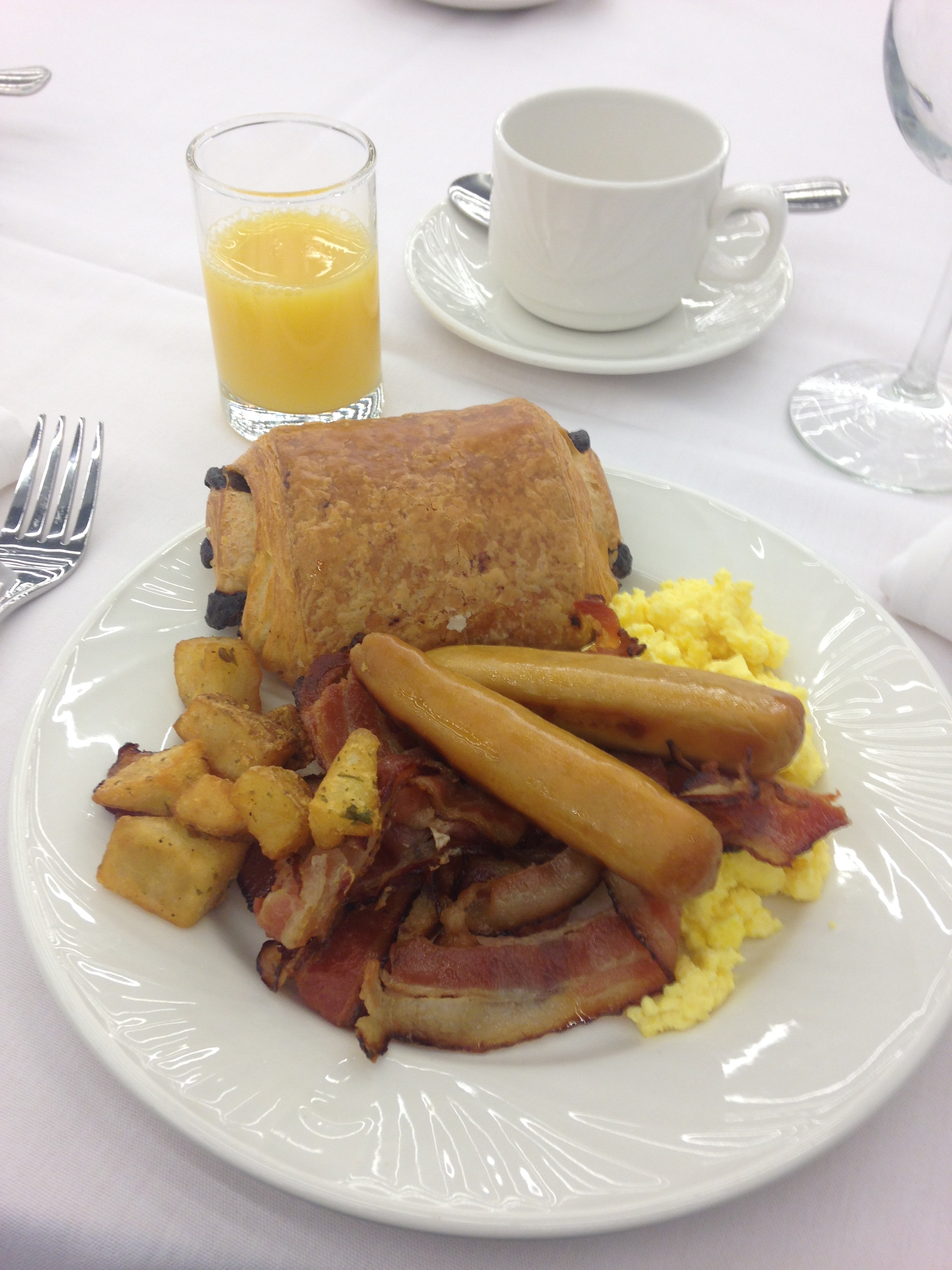 One of the best parts is the awesome free breakfast!