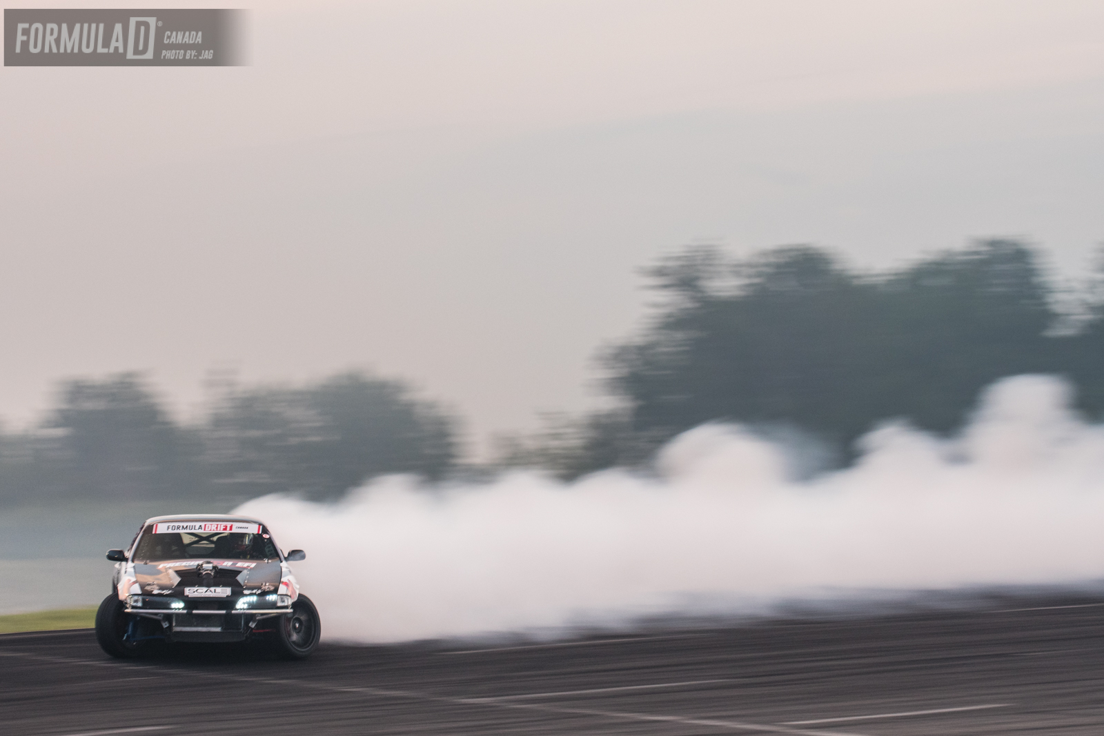 Top 8 Marc faced Jonathan Nerren in his bad ass v8 Supercharged S14. Contact was made on initiation causing Jonathan to pretty much loose drift but Marc was able too hold it down and finish his run. Marc takes the win.