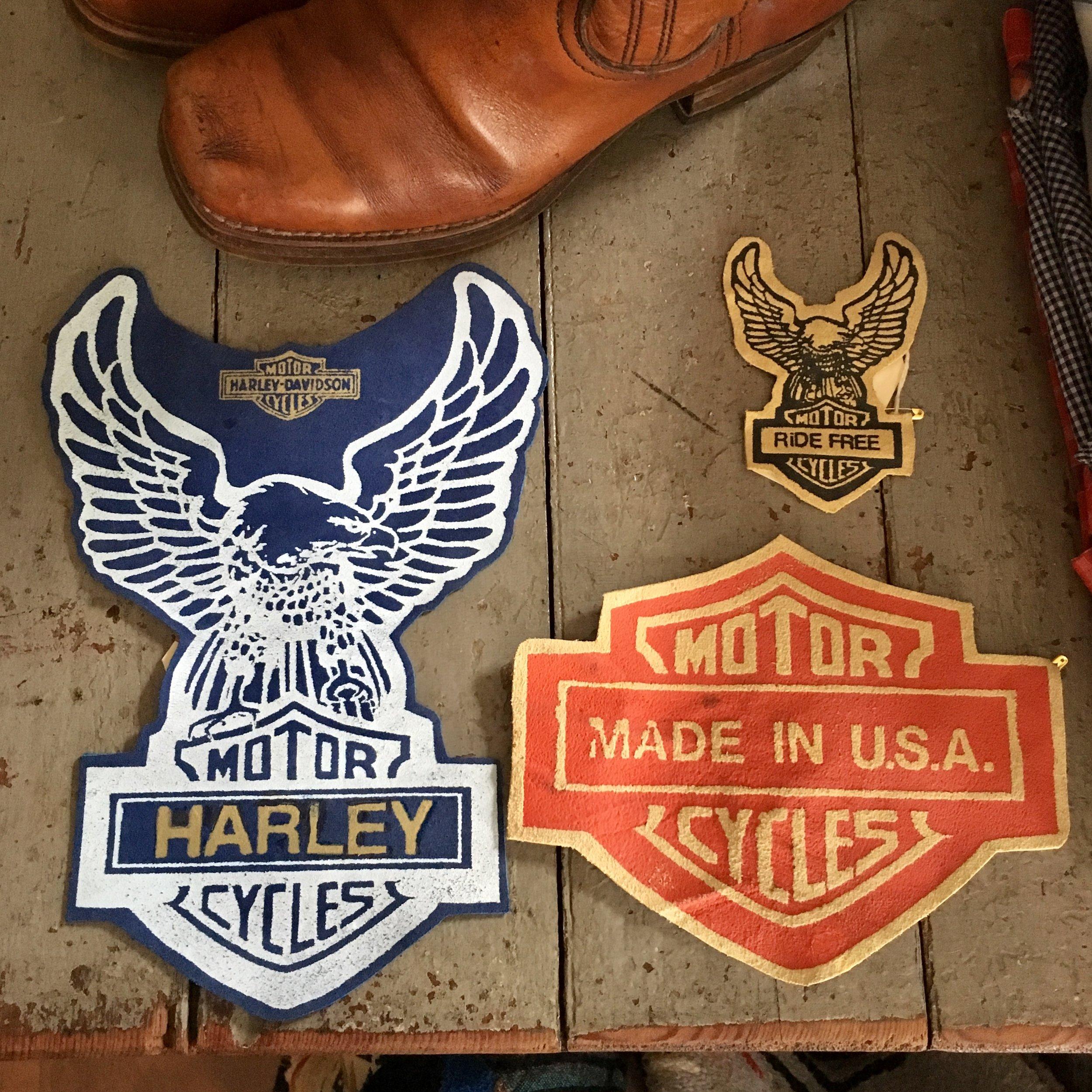 VintageHarleyPatches