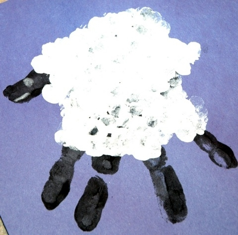 Handprint Lamb