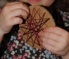 Woven Star Ornament