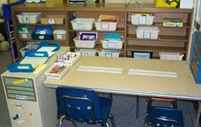 Writing Table & ABC Tubs