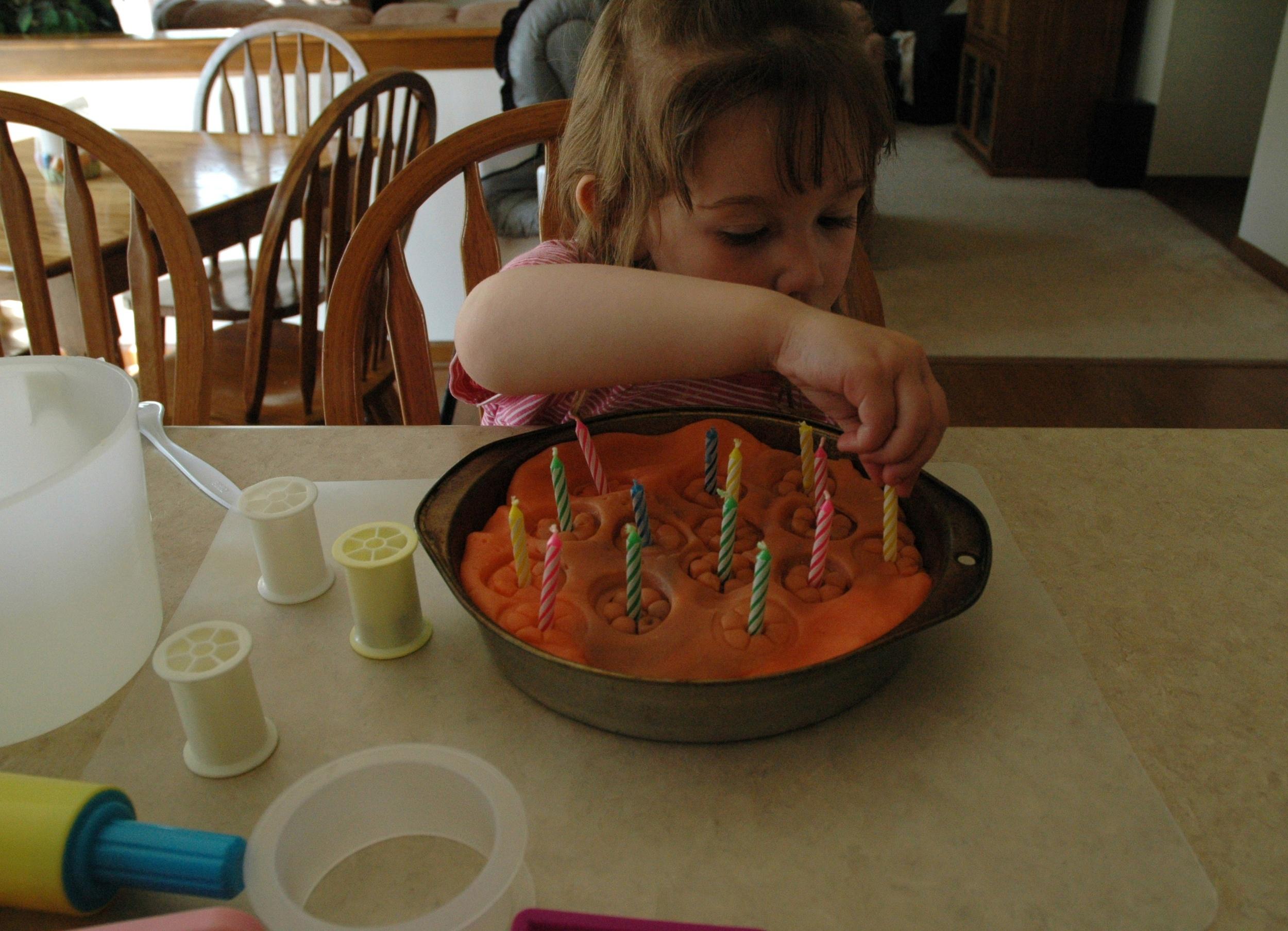Playdough 'Cake'
