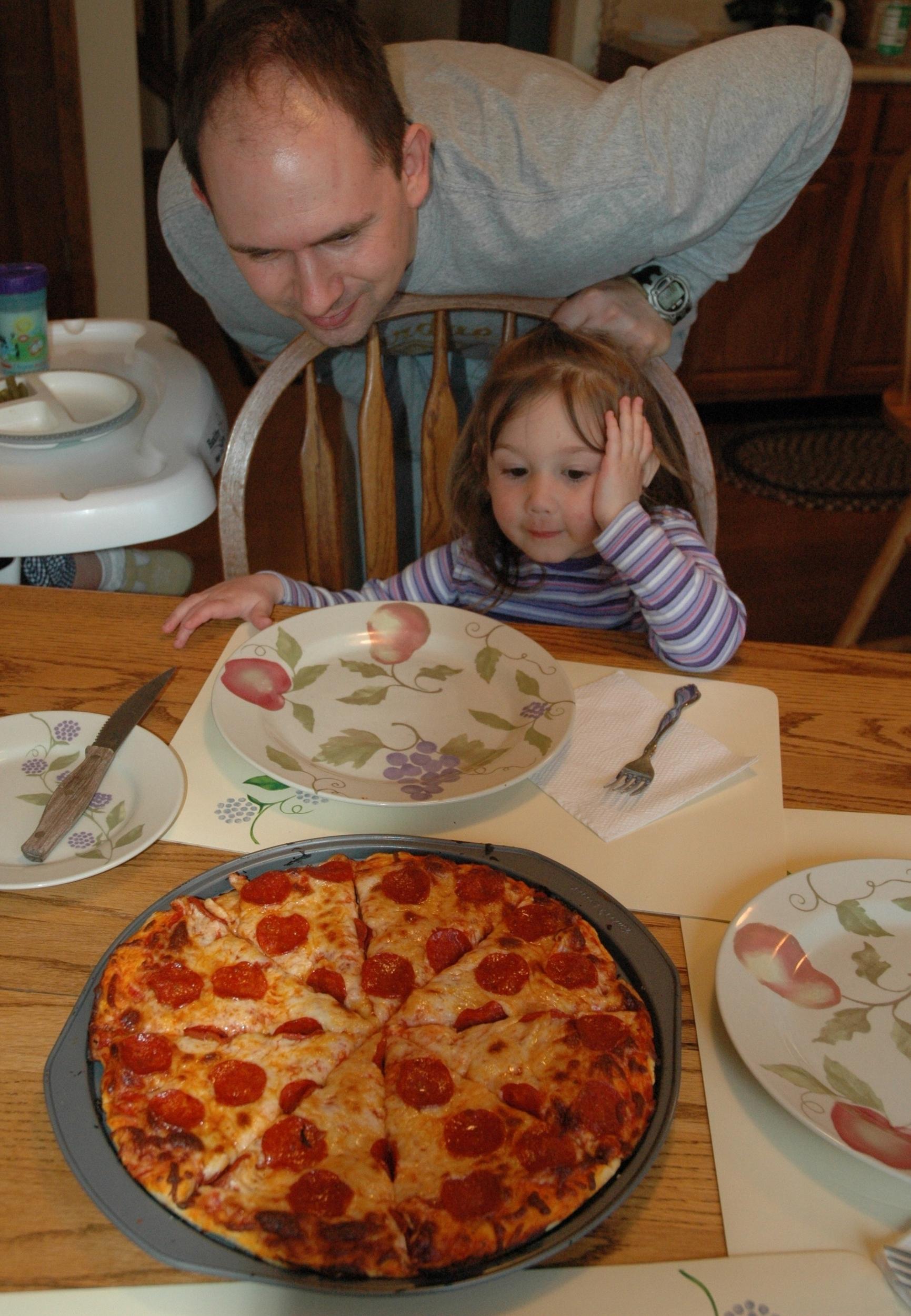 Pizza for Dinner!